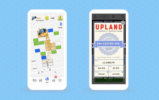 versi mobile game monopoli Upland